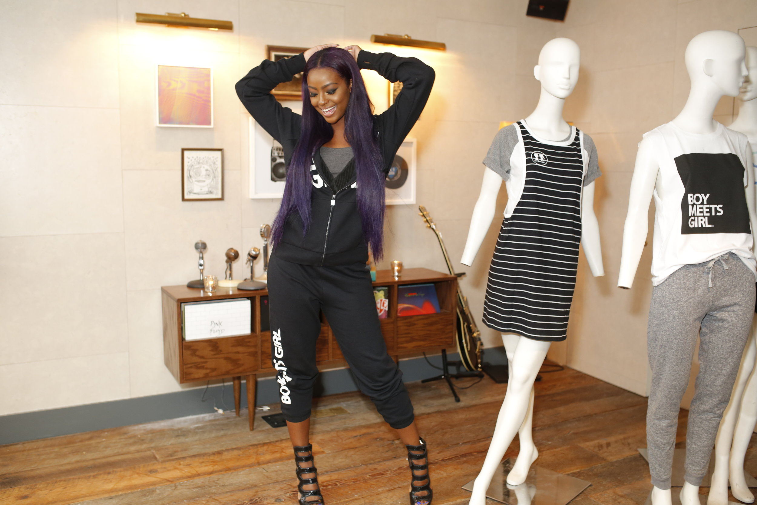 Justine Skye stuns in Boy Meets Girl.