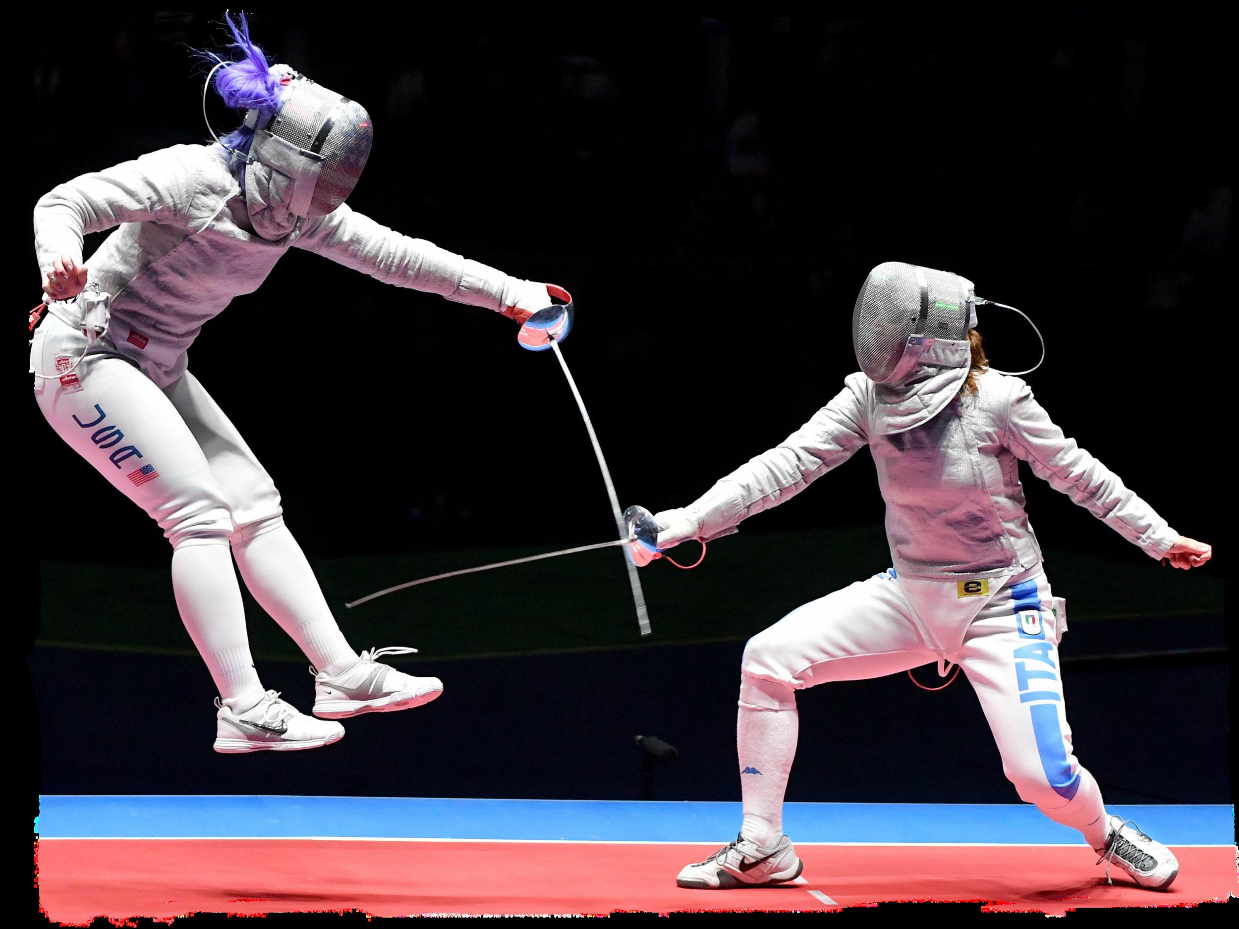 DAGMARA WOZNIAK      TEAM USA OLYMPIAN 2016 RIO BRONZE FENCER