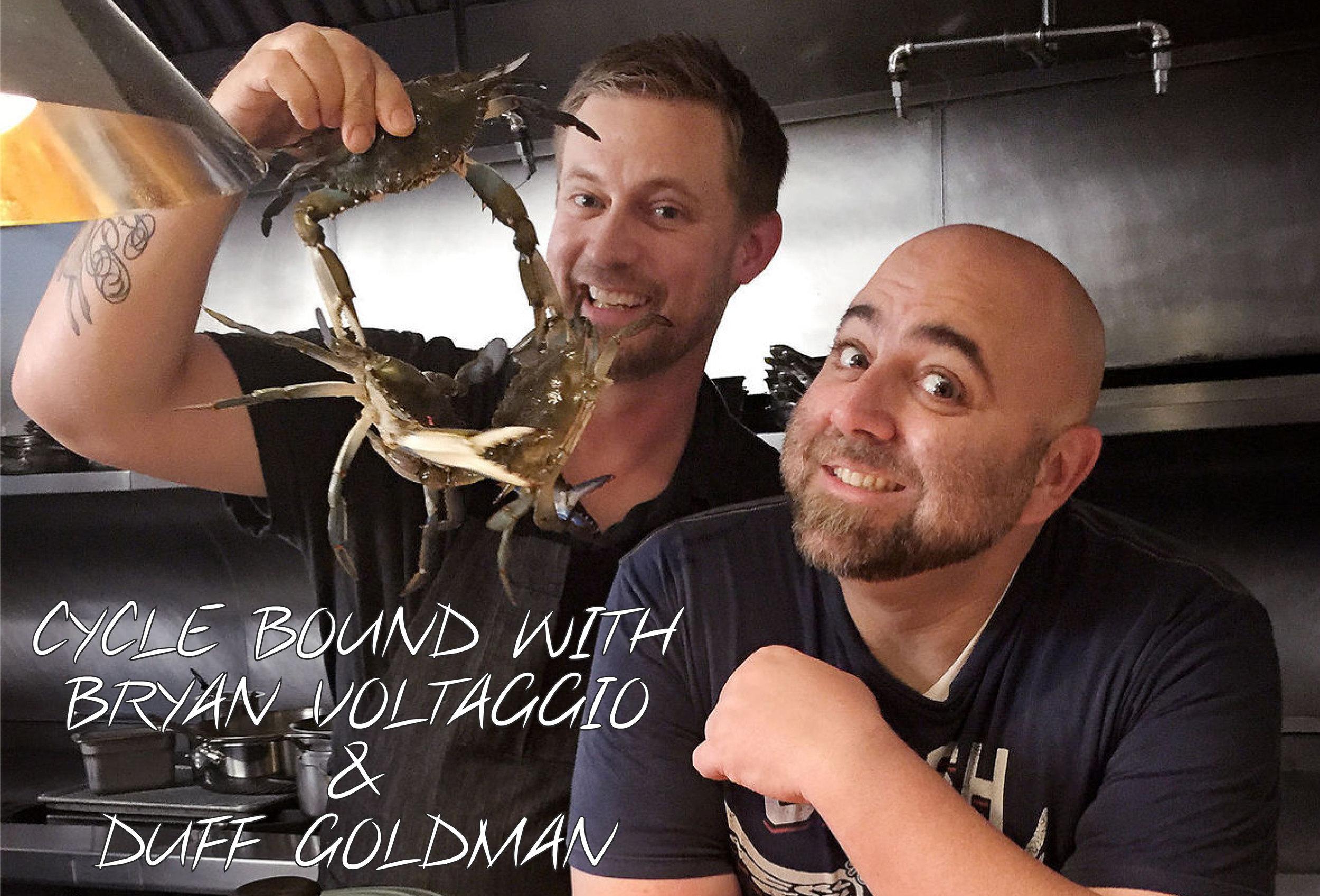 Chef Bryan Voltaggio + Chef Duff Goldman
