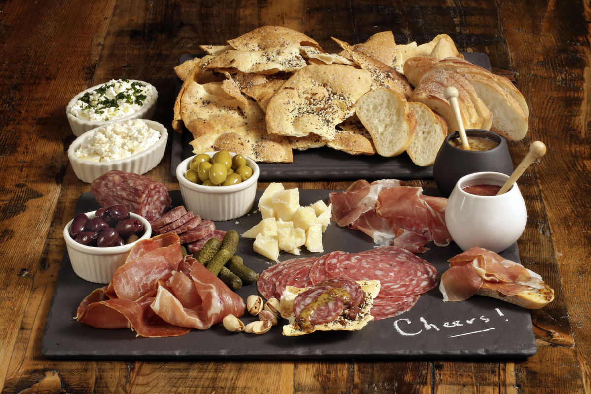 We always suggest a charcuterie platter as it's an easy way to please everyone!