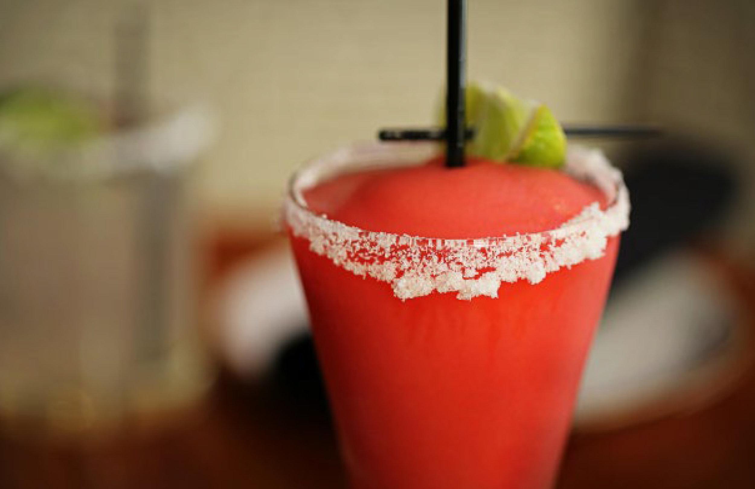 |  LEFT  Prickly Pear Margarita |  RIGHT  El Camino Margarita |