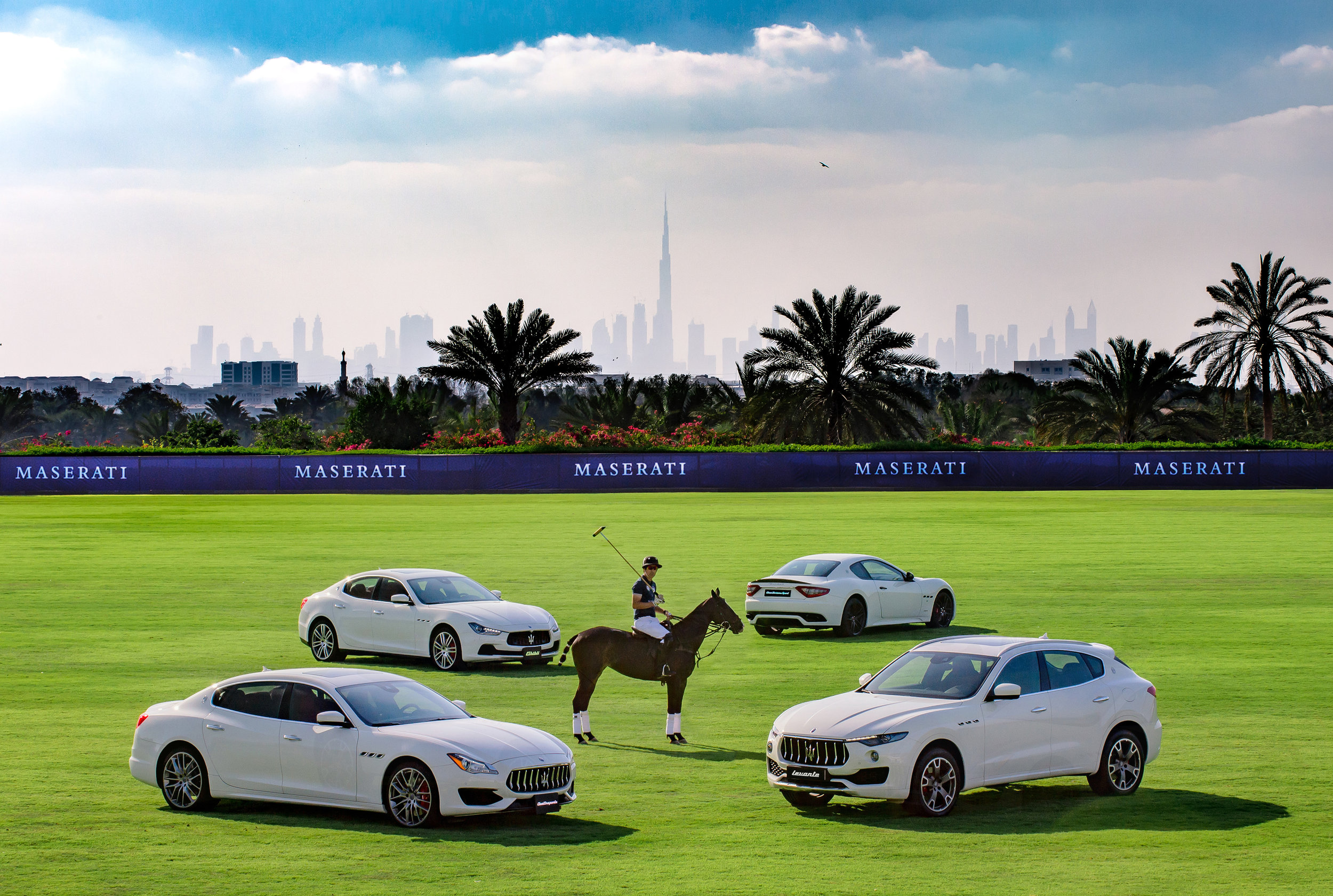 Maserati 2017 Polo Tour's 2nd Leg in Abu Dhabi