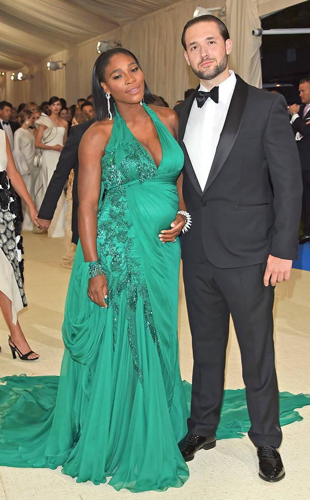 Serena Williams + Alexis Ohanian