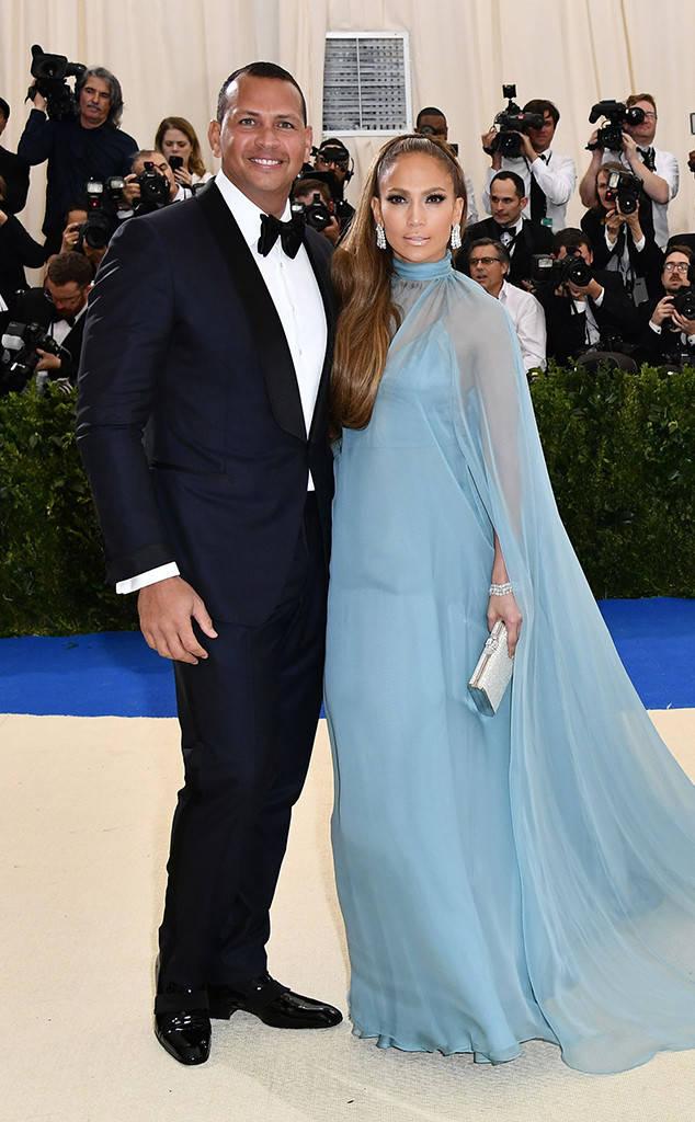 Alex Rodriguez + J. Lo