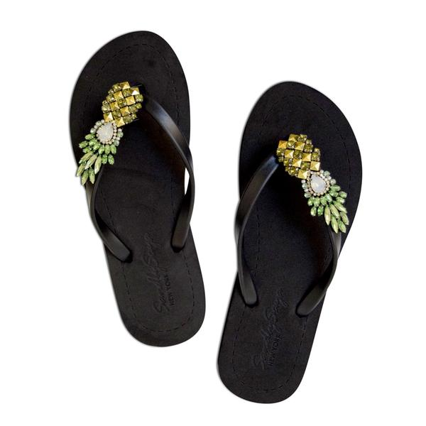 SAND BY SAYA Pineapple Sandals