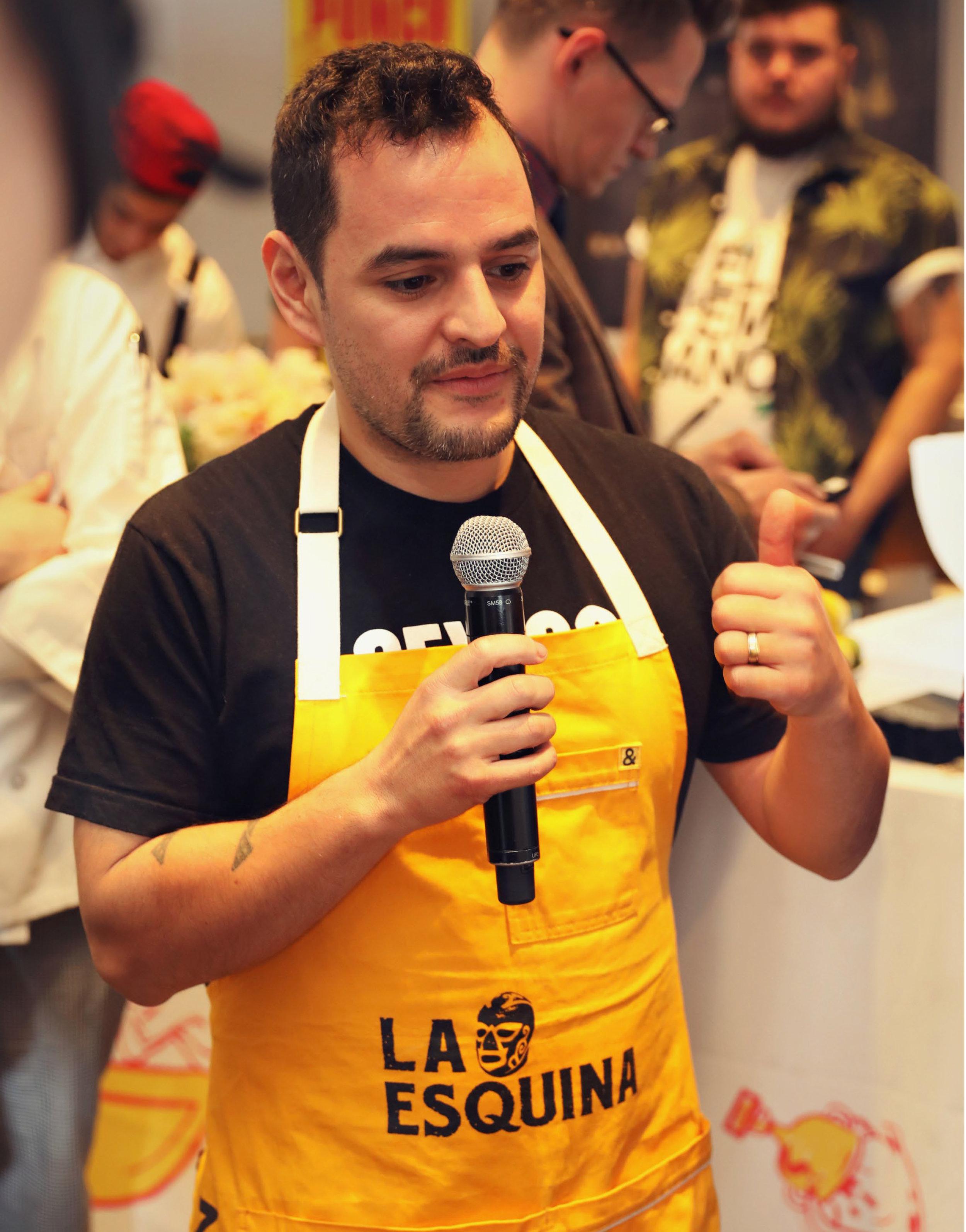 Chef Fabian Gallardo of La Esquina