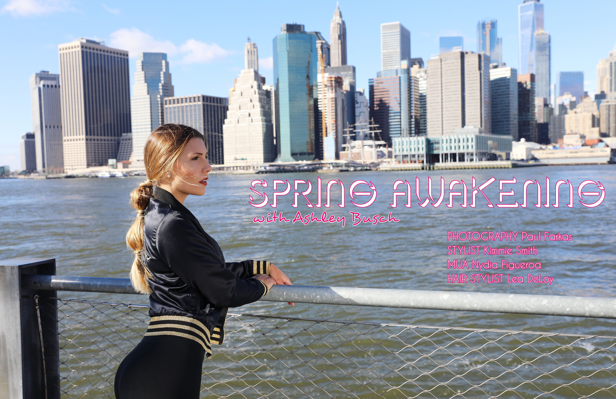 ATHLEISURE MAG MAR ISSUE WITH OUR CELEBRITY COVER, US POLO PLAYER Ashley Busch