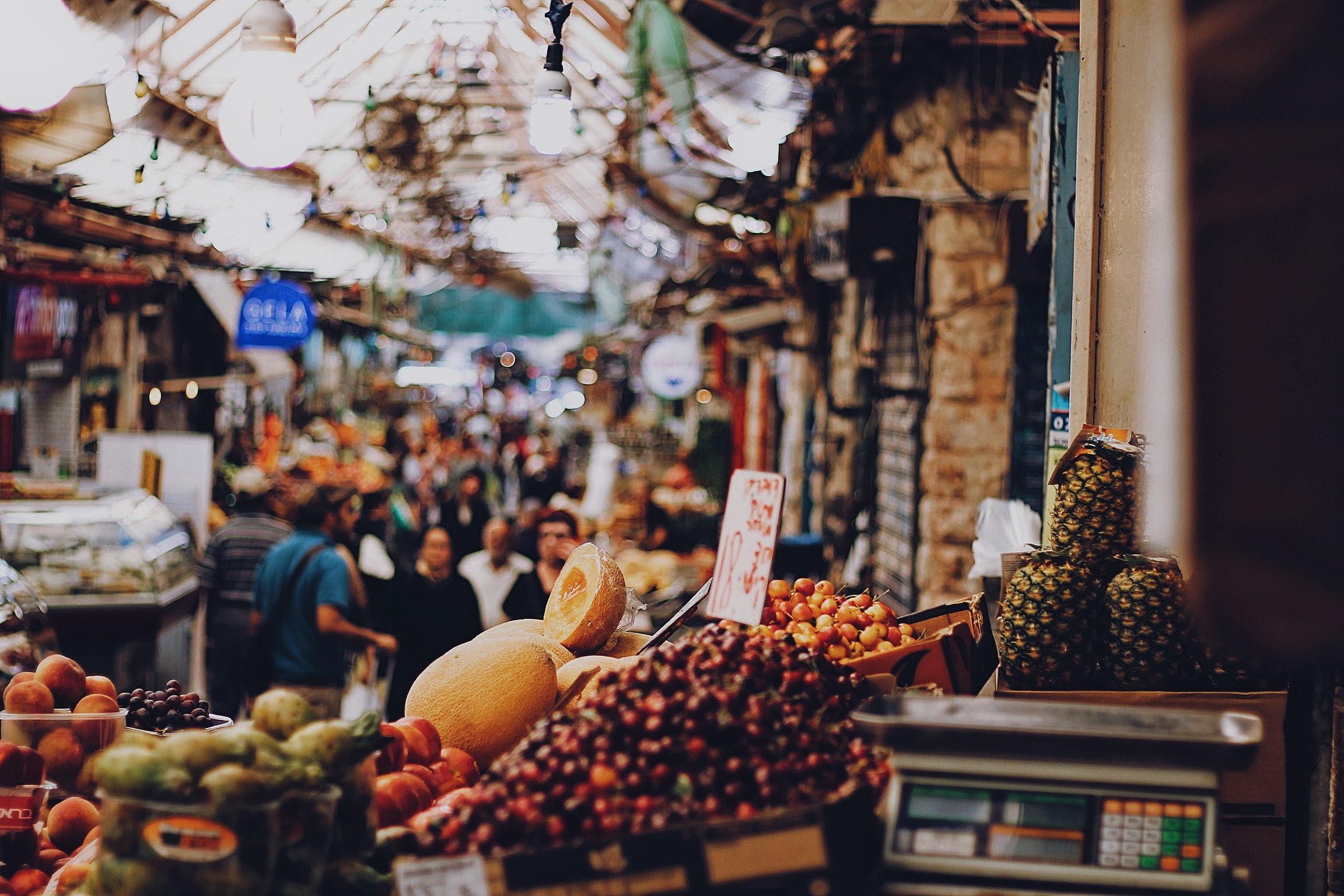 Mahane Yehuda Market - Jerusalem, Israel