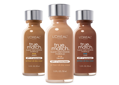 L'Oreal - True Match is a wide range of blendable foundations that makes your skin glow.
