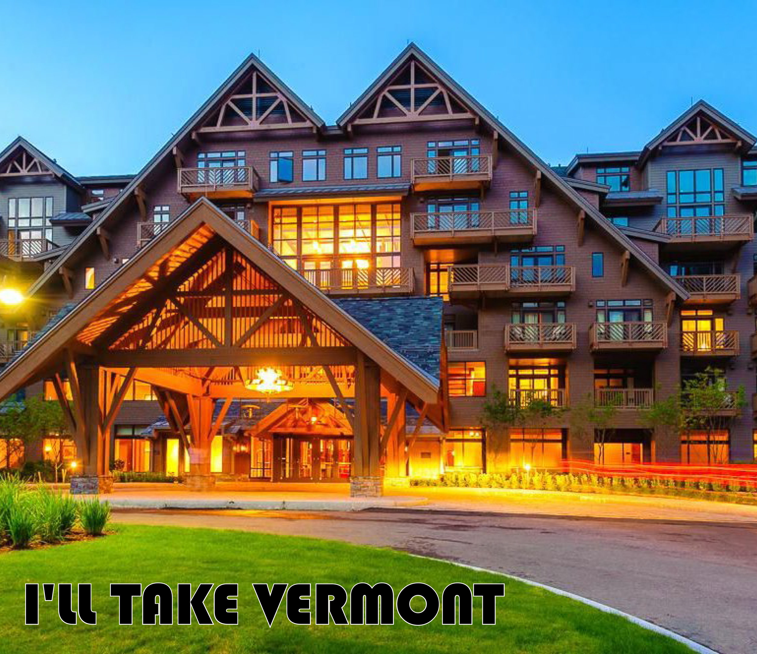 I'll Take Vermont - Stowe Mountain Lodge + GMC Canyon Denali