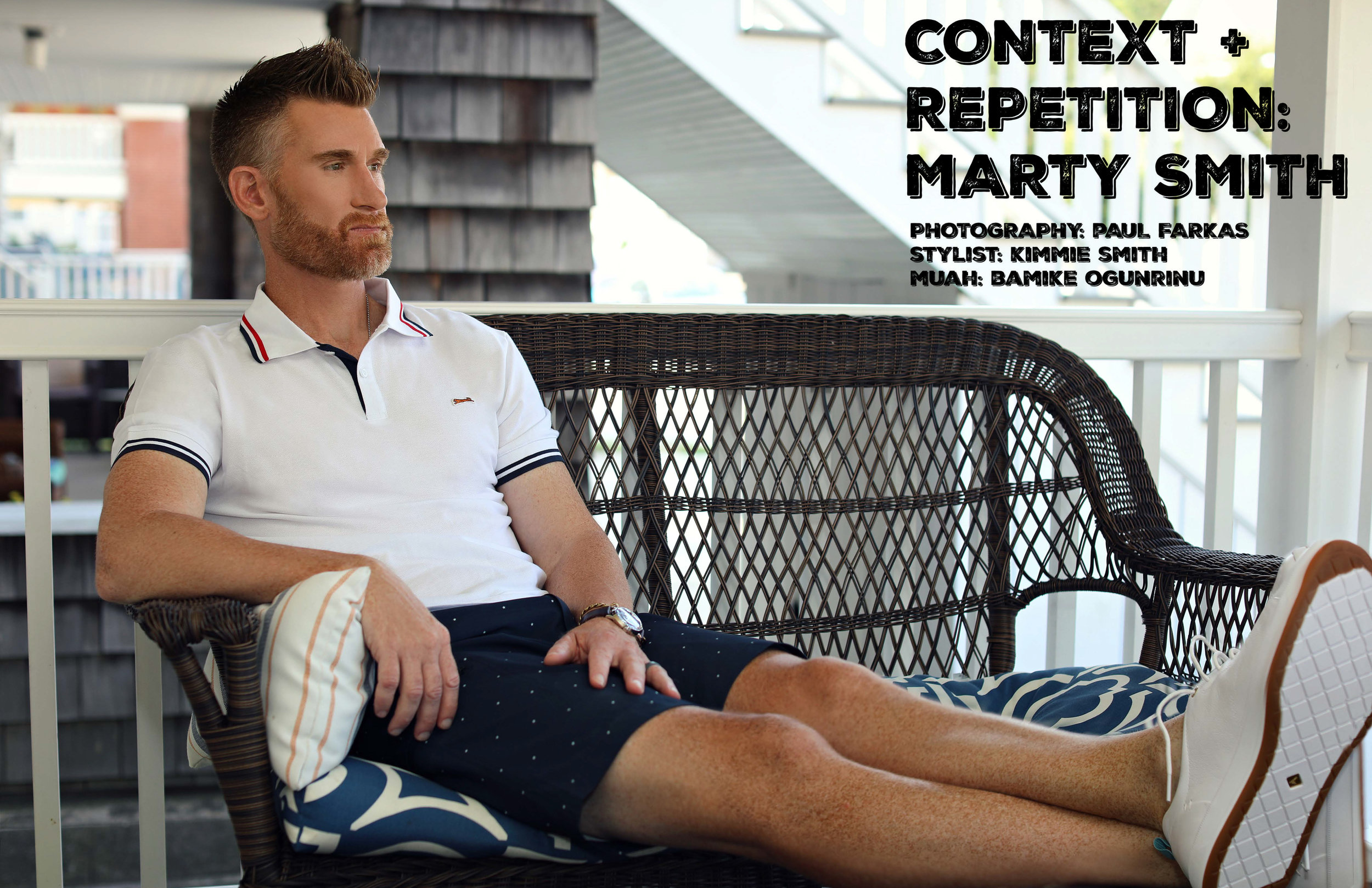 ATHLEISURE MAG | JUL 2019 ESPN BROADCASTER/JOURNALIST/HOST MARTY SMITH