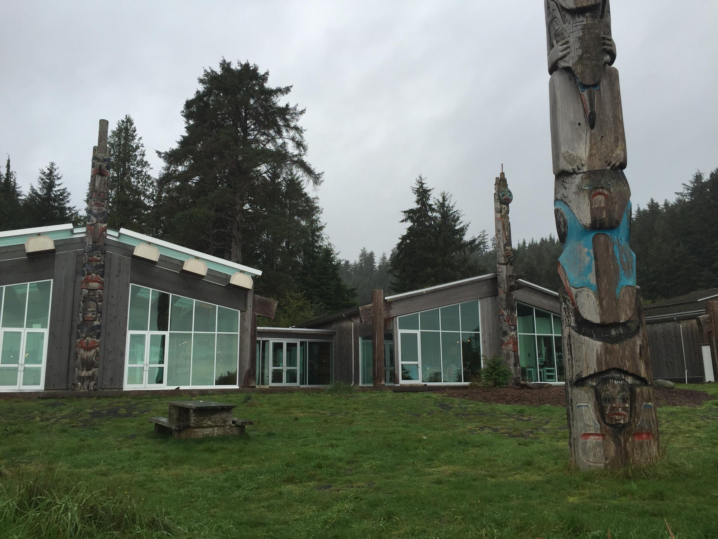 Haida Heritage Centre, Skidegate, BC