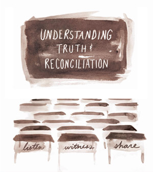 Image source: University of British Columbia,  Dialogue on Canada's Truth and Reconciliation Commission , 2013