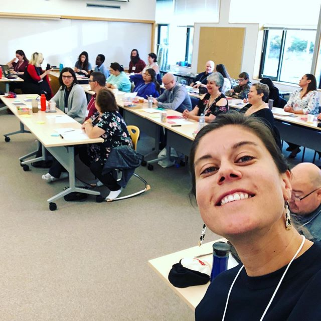 """It's Day 2 of DigitalNWT's """"Train-the-Trainer"""" workshop series in @townofinuvik and we are thrilled to be hosted by @inuvialuitcorp, who represent the interests of the #Inuvialuit population in the NWT. Part of their mandate includes supporting the career development of the Inuvialuit through different education and skill enhancement programs, and they are an important part of the DigitalNWT initiative to support community-based digital literacy resources in the Northwest Territories.  We'd also like to thank @auroracollegenwt for their collaboration with the DigitalNWT program. As an institution operating 22 community learning centres in the North, they also have a research branch - The Aurora Research Institute - which aims to advance the economic and social goals of the Territories while promoting the integration of Indigenous knowledge in the fields of agriculture, environment, health, and information technology.  To learn more about the full scope of this important 3-year digital literacy project, visit:  http://www.digitalnwt.ca  We are so grateful to be a part of such an incredible community of educators, researchers, and communities working towards improving media education and digital literacy throughout Canada. Thank you! . . . #Education #Educators #DecolonizedEducation #NWT #NWTEdu #NWTResearch #DigitalLiteracy #MediaEducation #MediaLiteracy"""