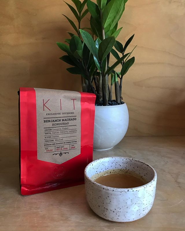 Have you heard? We now have our very own exclusive coffee from Coava! No one else in the whole world sells this coffee from Honduran farmer, Benjamin Machado. This washed coffee is rich and chocolatey with hints of almond butter. Come by and try out our newest coffee as drip, in an espresso drink, or get a bag for yourself!