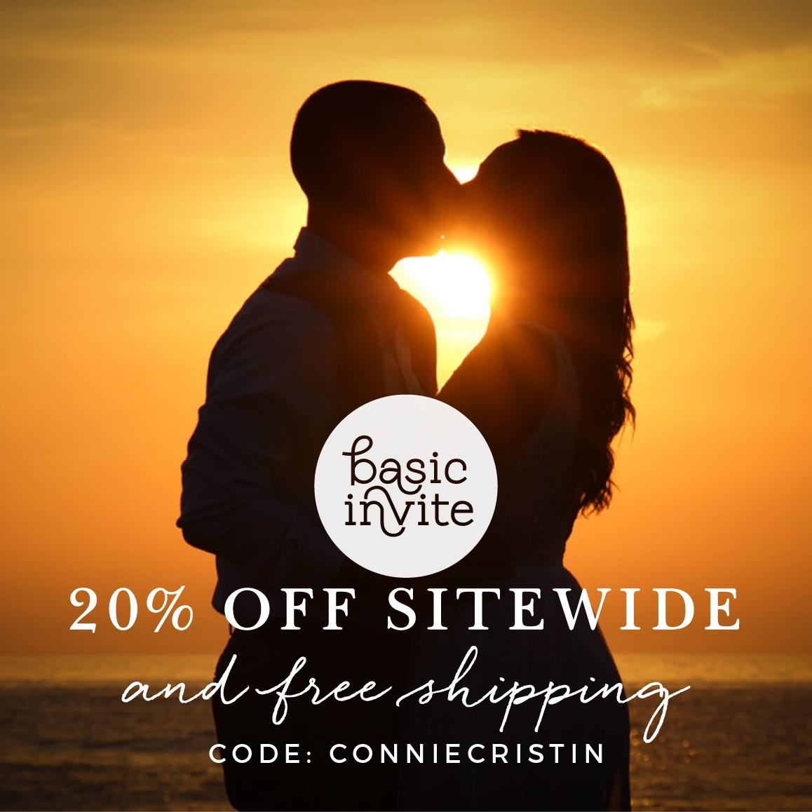 Wedding Invite Discount Code