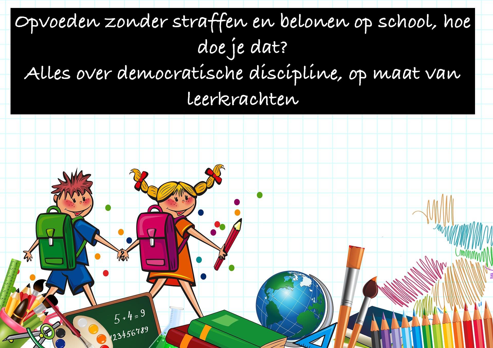 - Directies en leerkrachten ondersteunen om nog meer van het goede te geven, elke dag