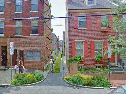 Image Credit: Community Design Collaborative Flickr.com, GREEN city. CLEAN waters. QUEEN village. Finalist. Soak It Up! Philadelphia Design Competition.