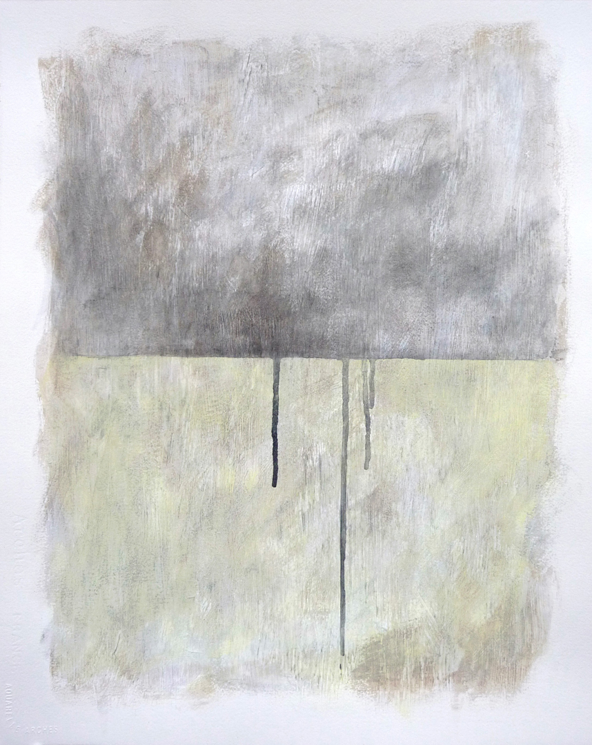 Untitled 2010. Mixed media on paper. 20 x 16 inches (50.8 x 40.6 cm)