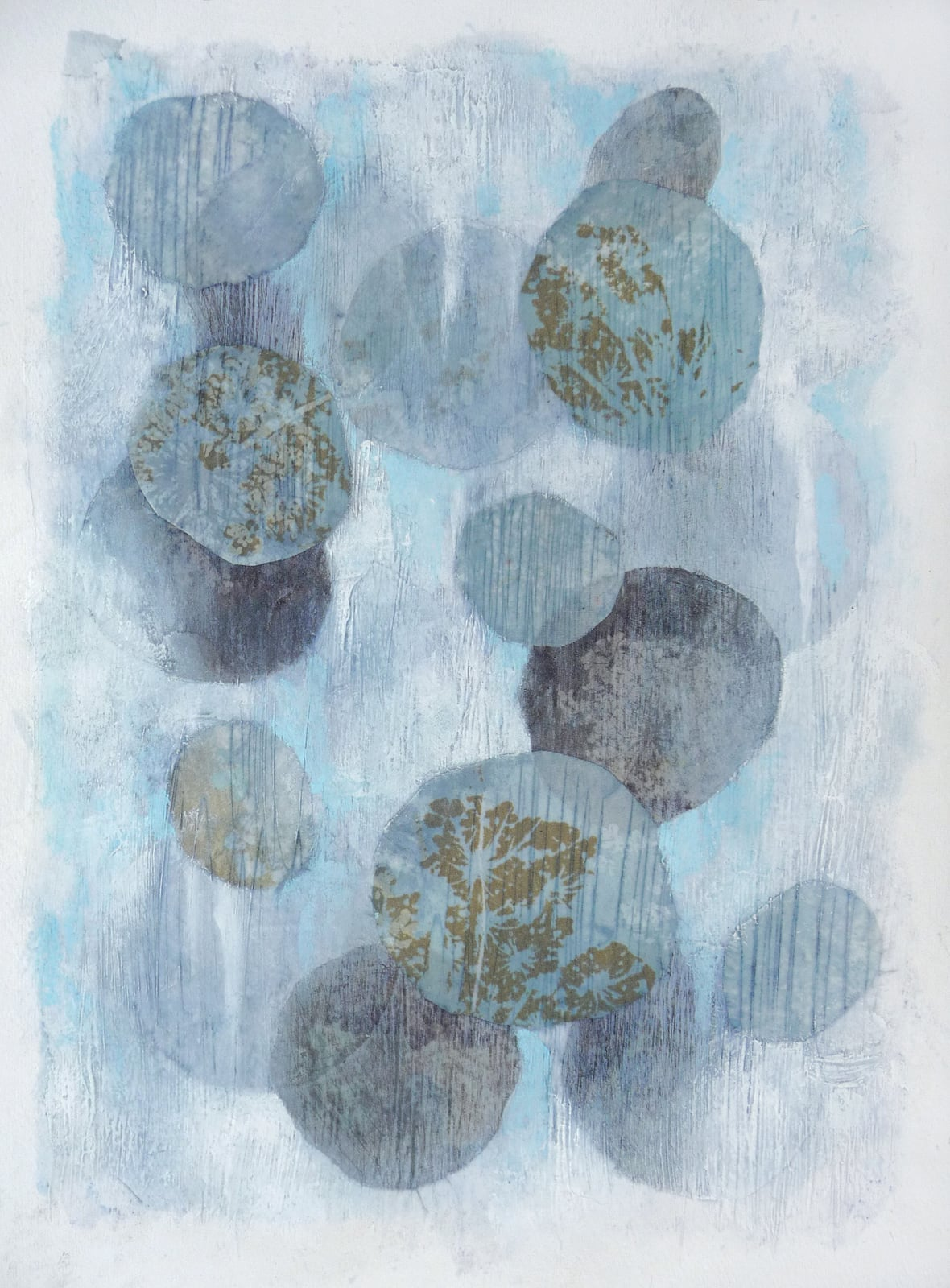 Untitled V , 2015. Mixed media on paper. 15 x 11 inches (38.1 x 27.9 cm)