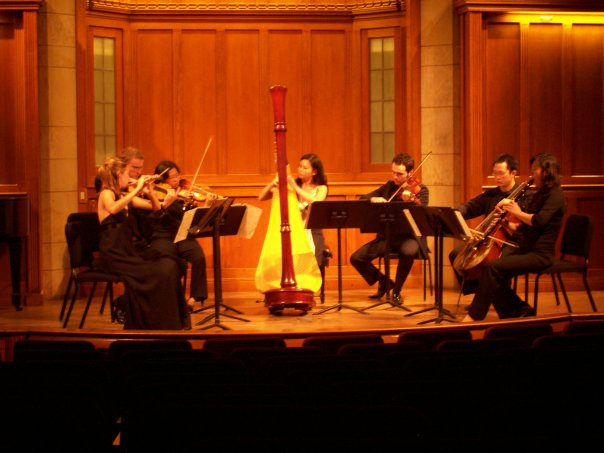 CHAMBER CONCERT AT YALE
