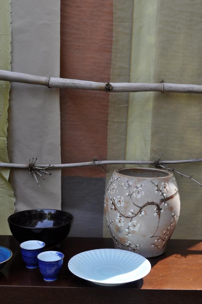 Cerúleo em Celadon  Prato de Porcelana em Celadon Verde, copos de cerimónia do chá em porcelana