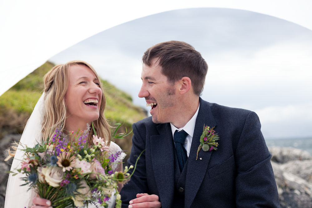 Mel & Dave Wedding July, Arisaig 2017