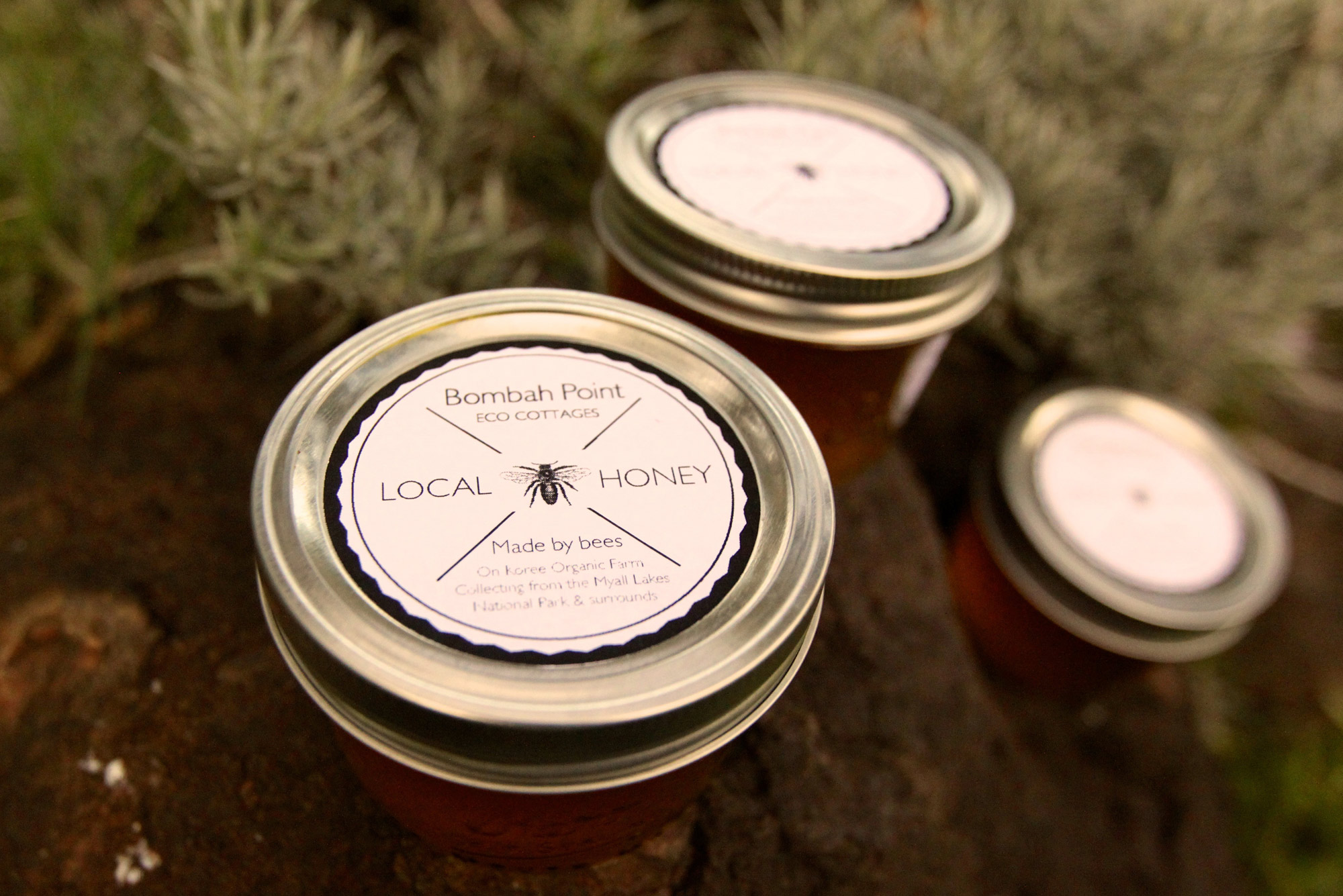 Enjoy our delightful local honey