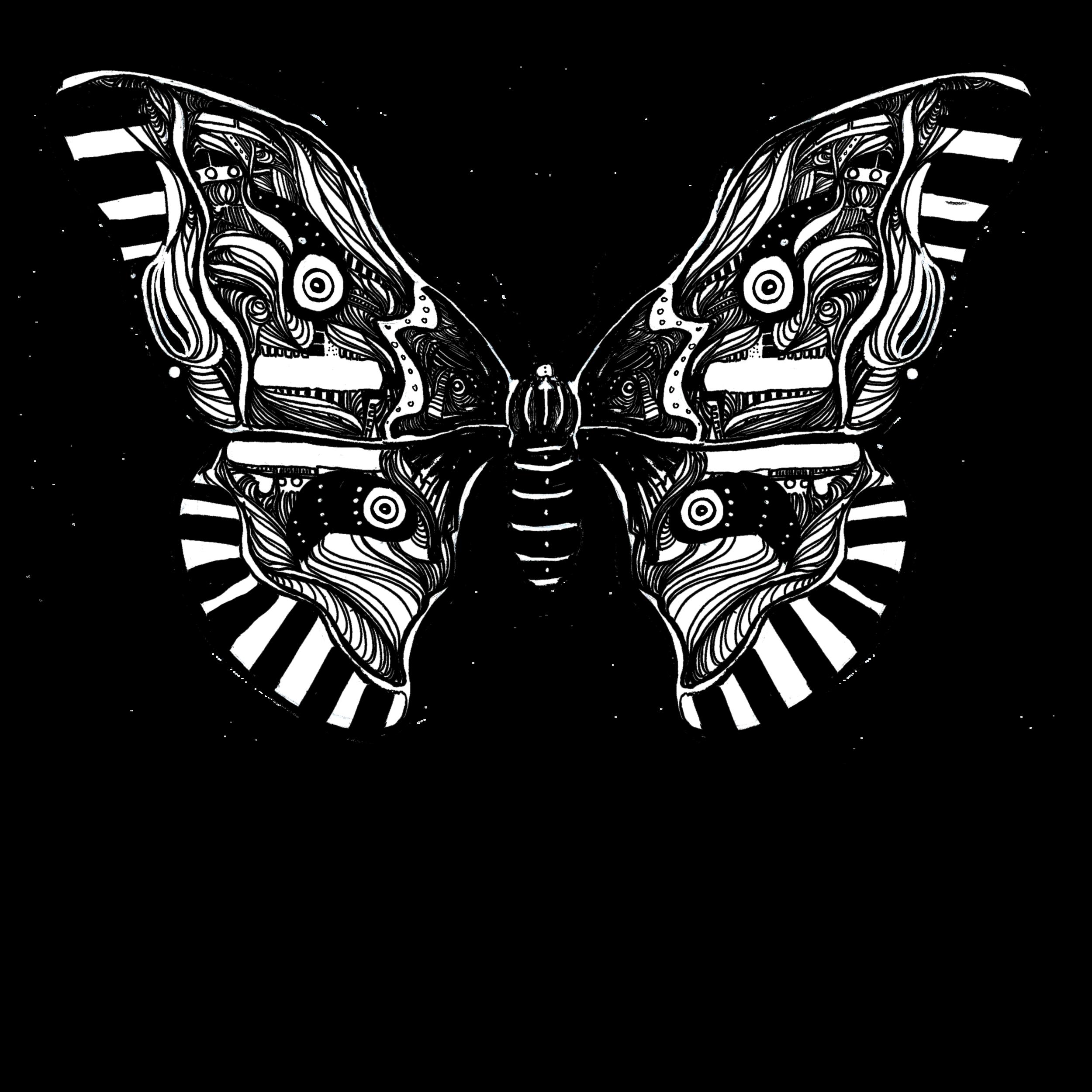 """Moth art by  Gareth A. Hopkins """"grthink"""""""