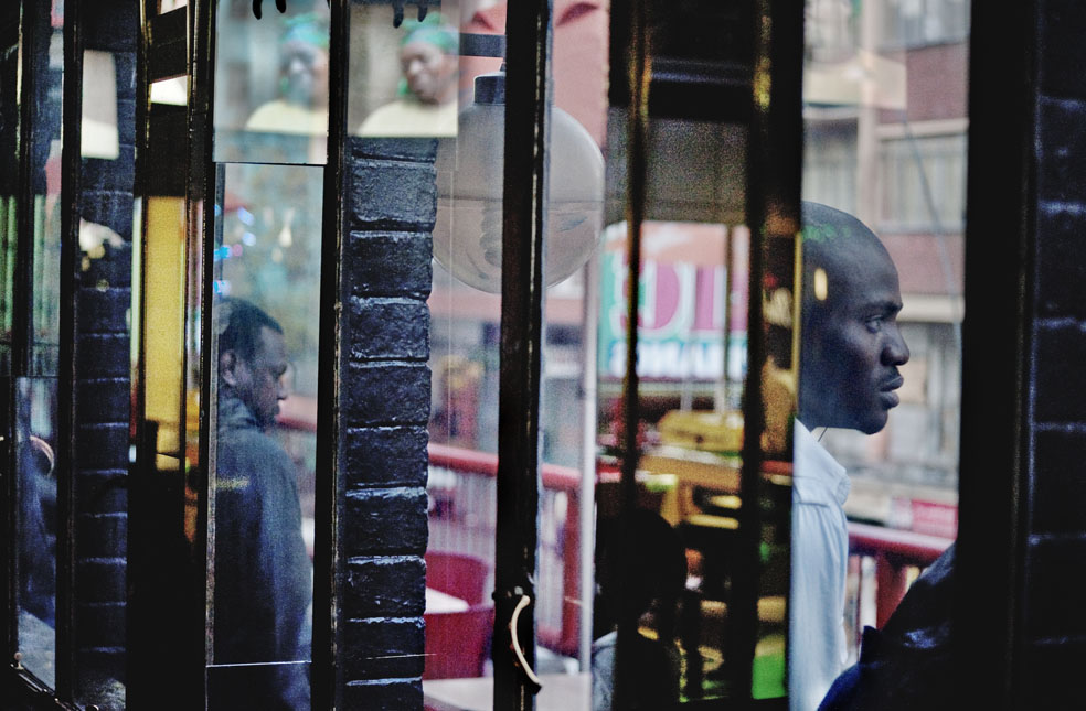 © Graeme Williams, from  A City Refracted /  Courtesy Axis Gallery
