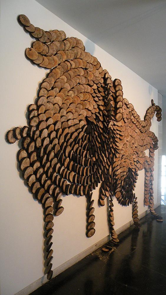 © Bright Ugo  chukwu Eke,  Ripples and Storm ii  , 2011   Courtesy Axis Gallery