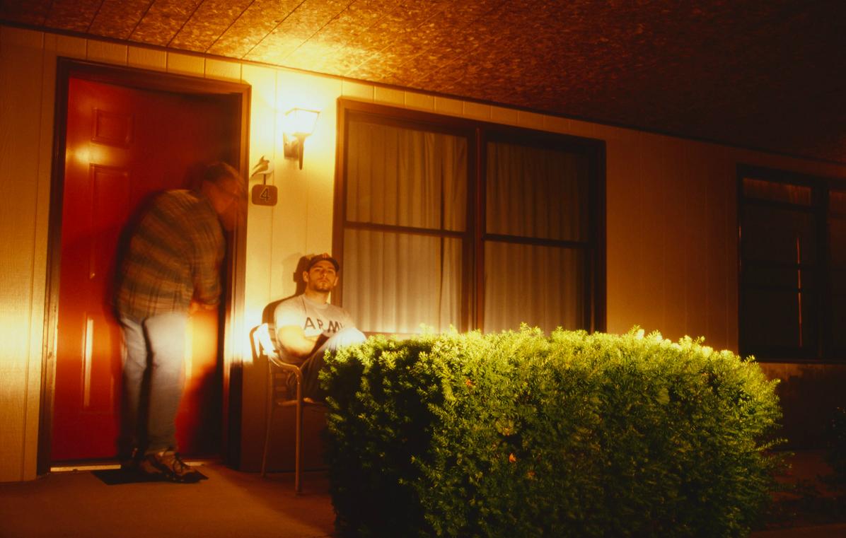 Chincoteague, Virginia, 1999- Hotel Room Portraits
