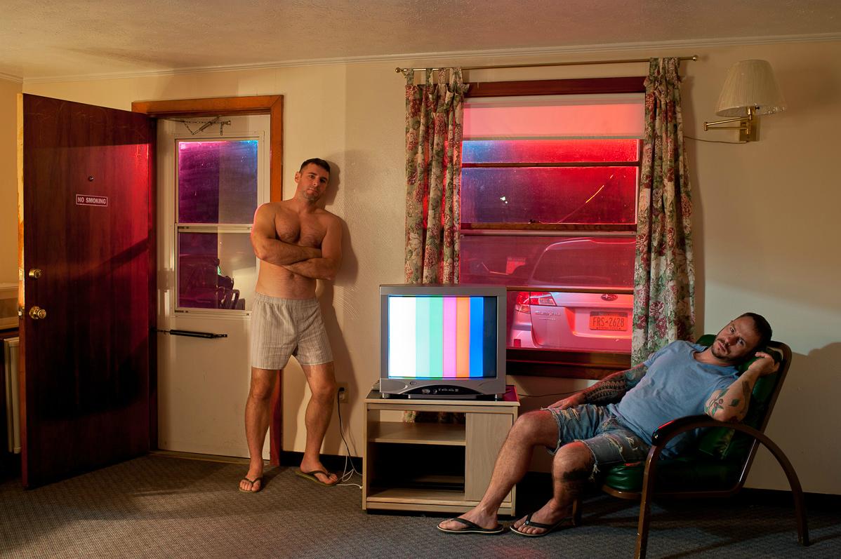 Ashtabula, Ohio, 2012- Hotel Room Portraits