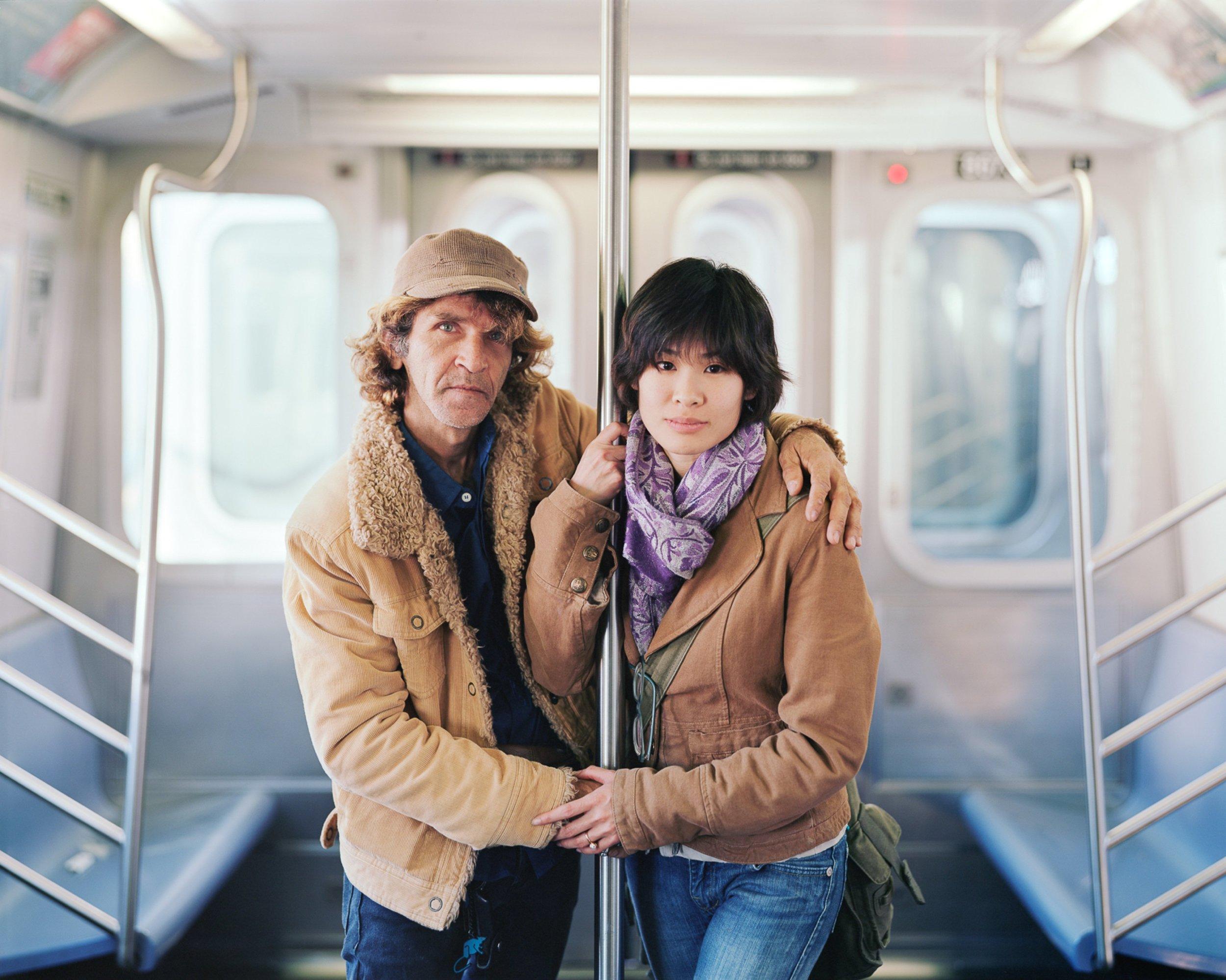 Alfredo and Jessica, 2011, New York, New York- Touching Strangers
