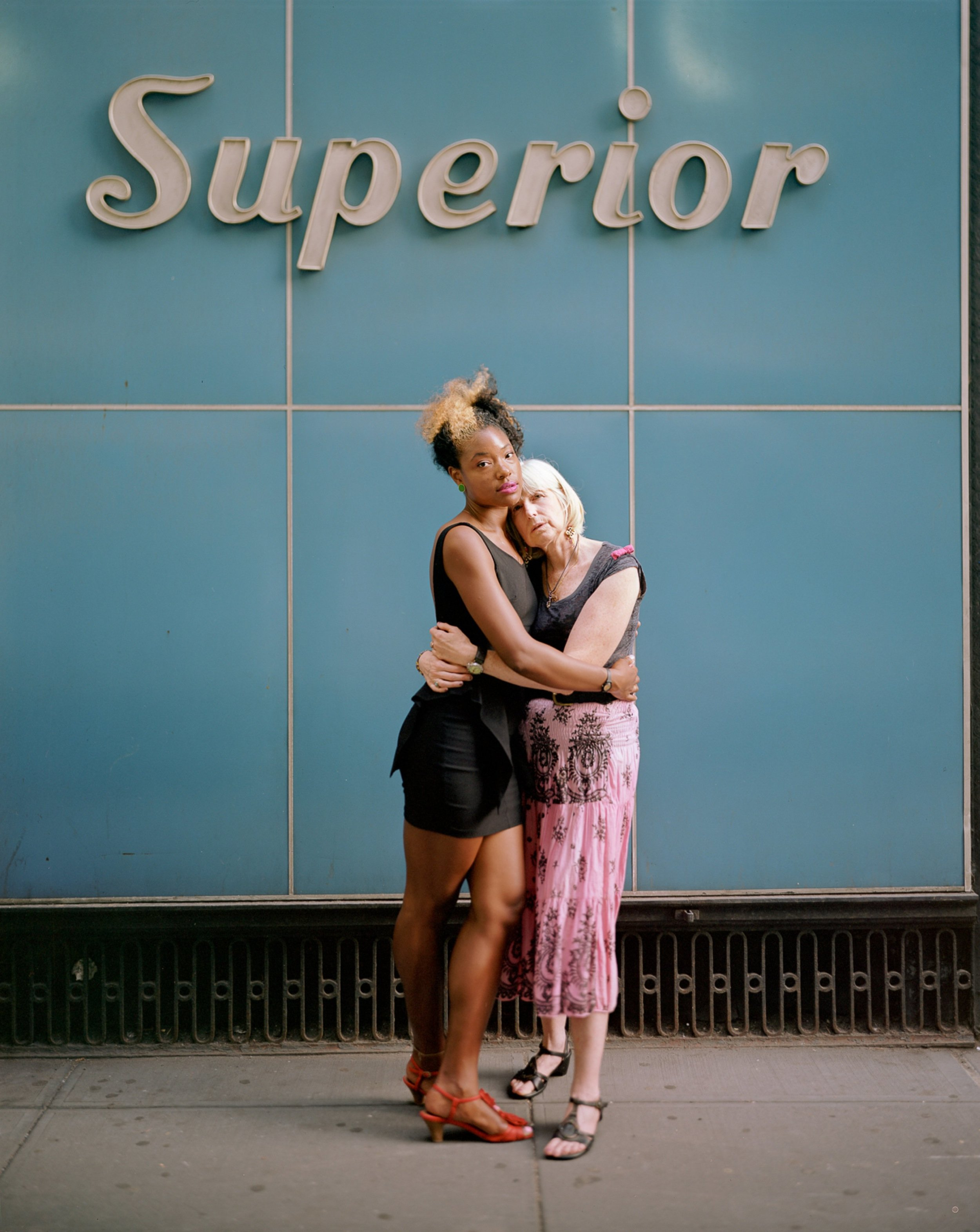 Elaine and Arly, 2012, New York, New York-Touching Strangers