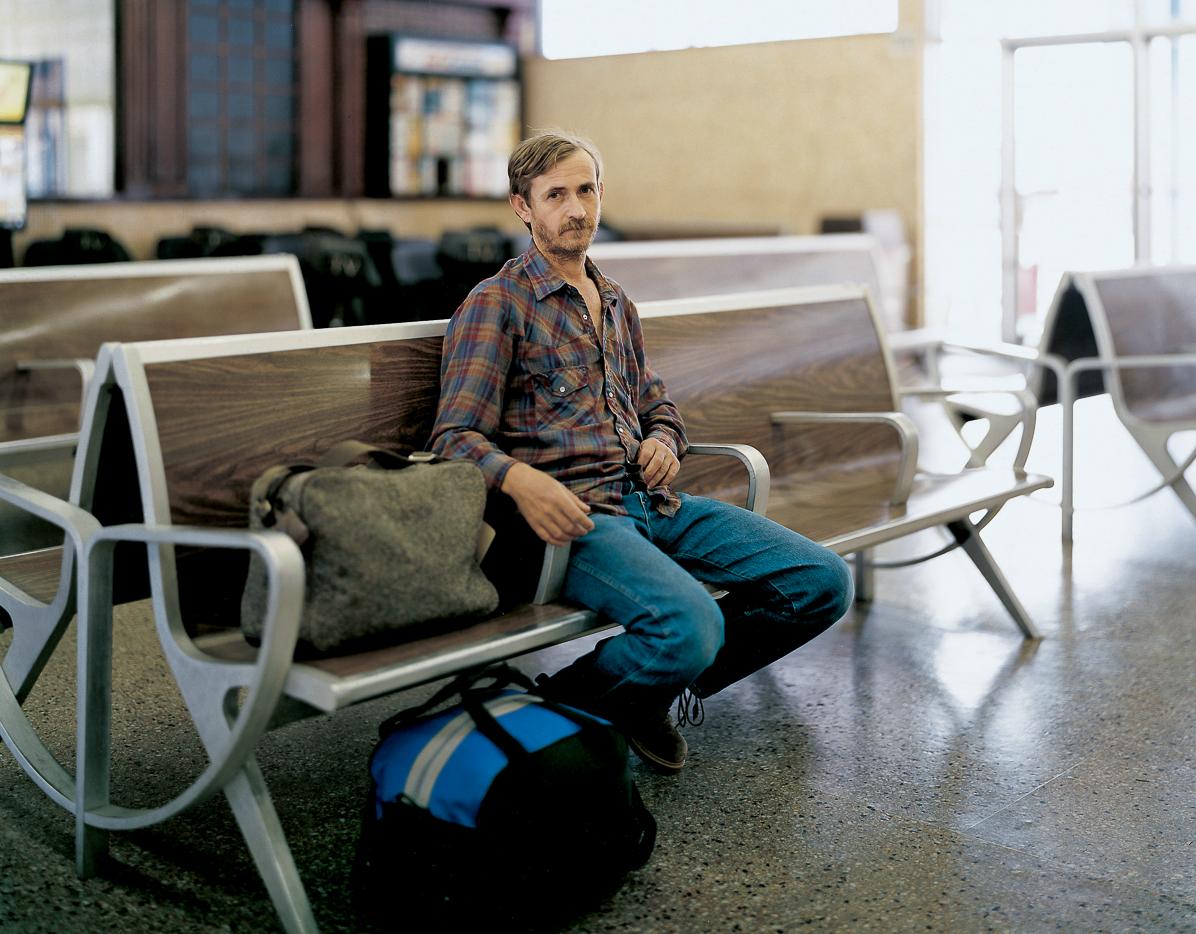 David; Okalhoma City, OK 2005 (Nokona, TX to Defiance, OH)- See America By Bus