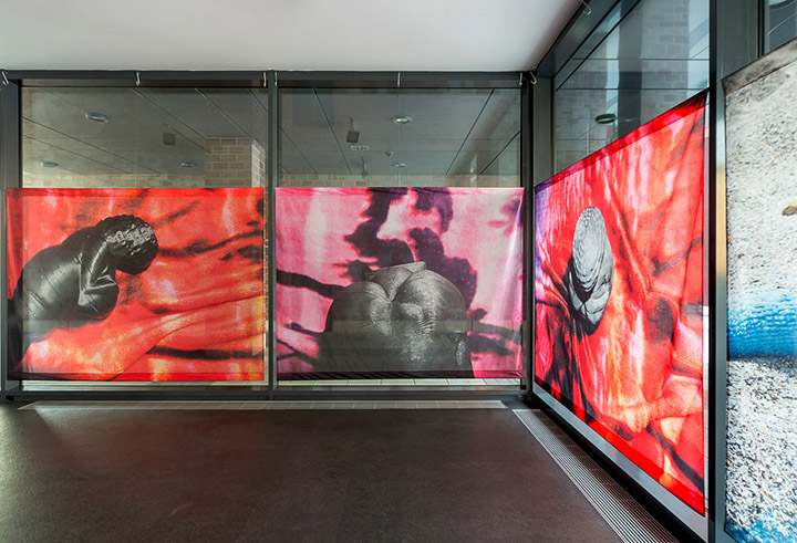 View of  Sense of Selfed  exhibition in Dortmunder Kunstverein,photo by Roland Baege