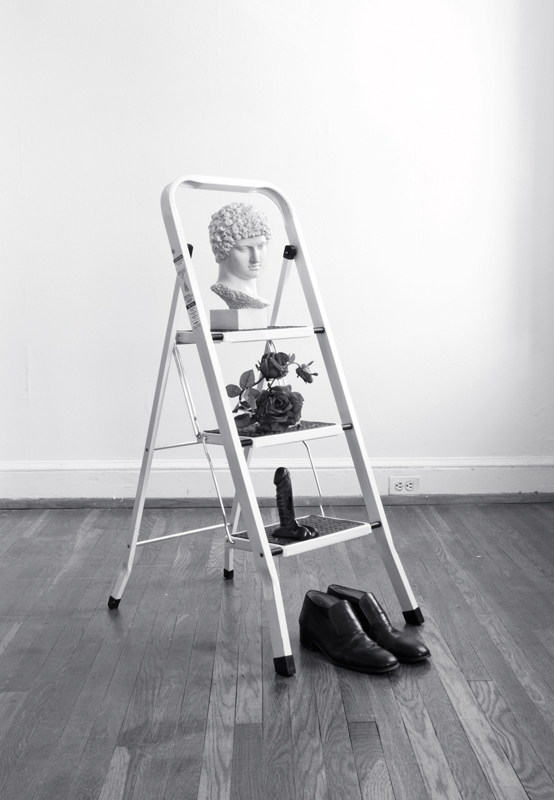Still Life with Ladder , 2012. From  The Anxiety of Influence .