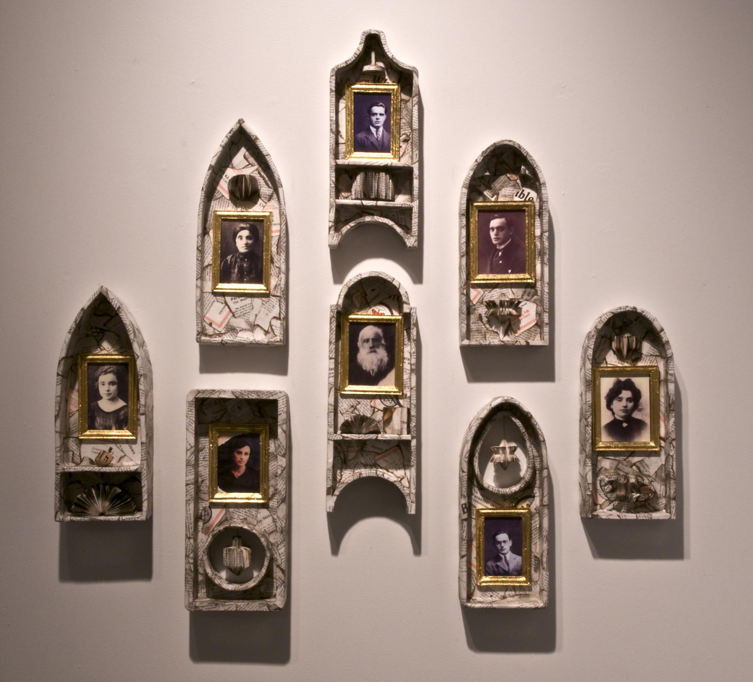 Jean Grosser. Shrines, 2007