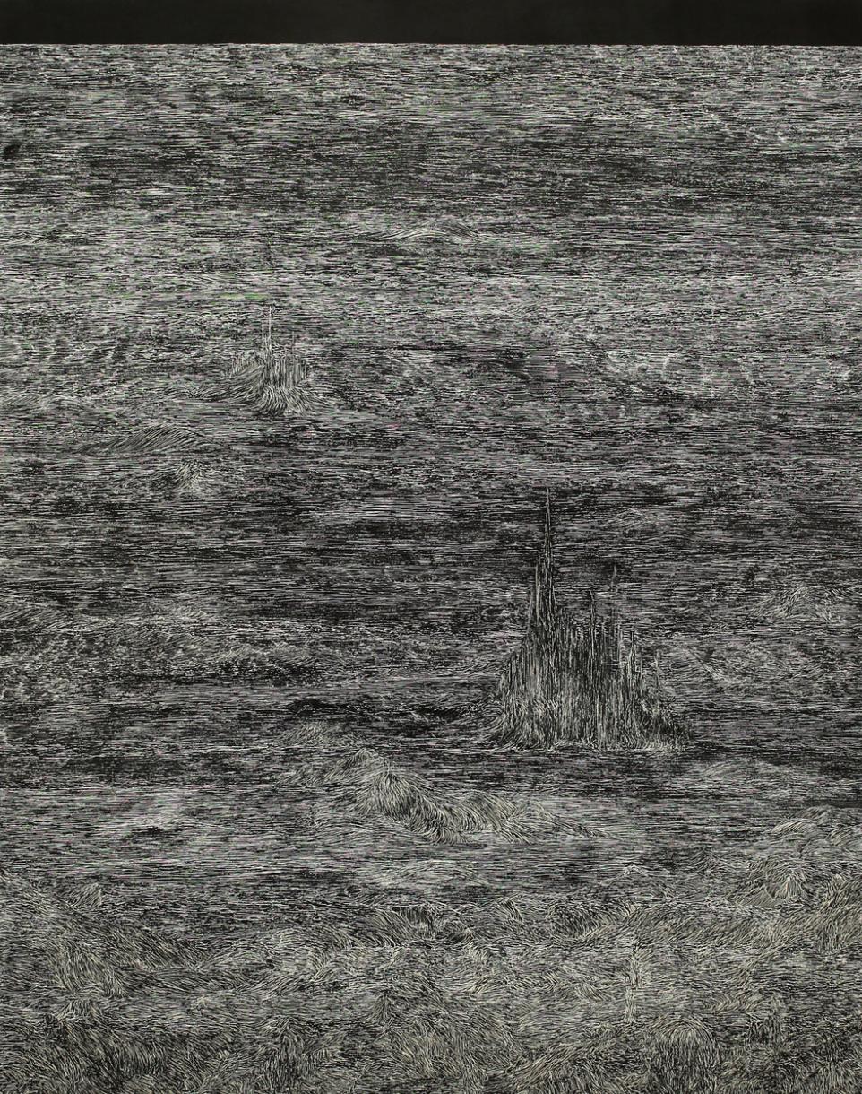 this trembling turf (echo), 2016