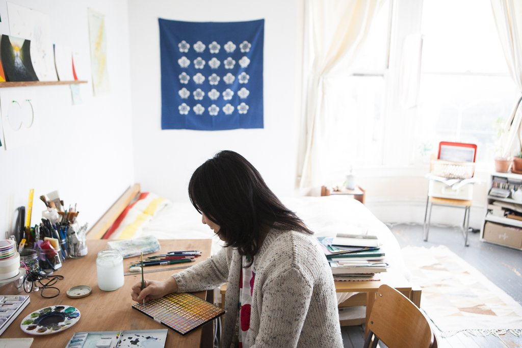 Studio Visit with Rumi Koshino / Photo by Maggie Carson Romano