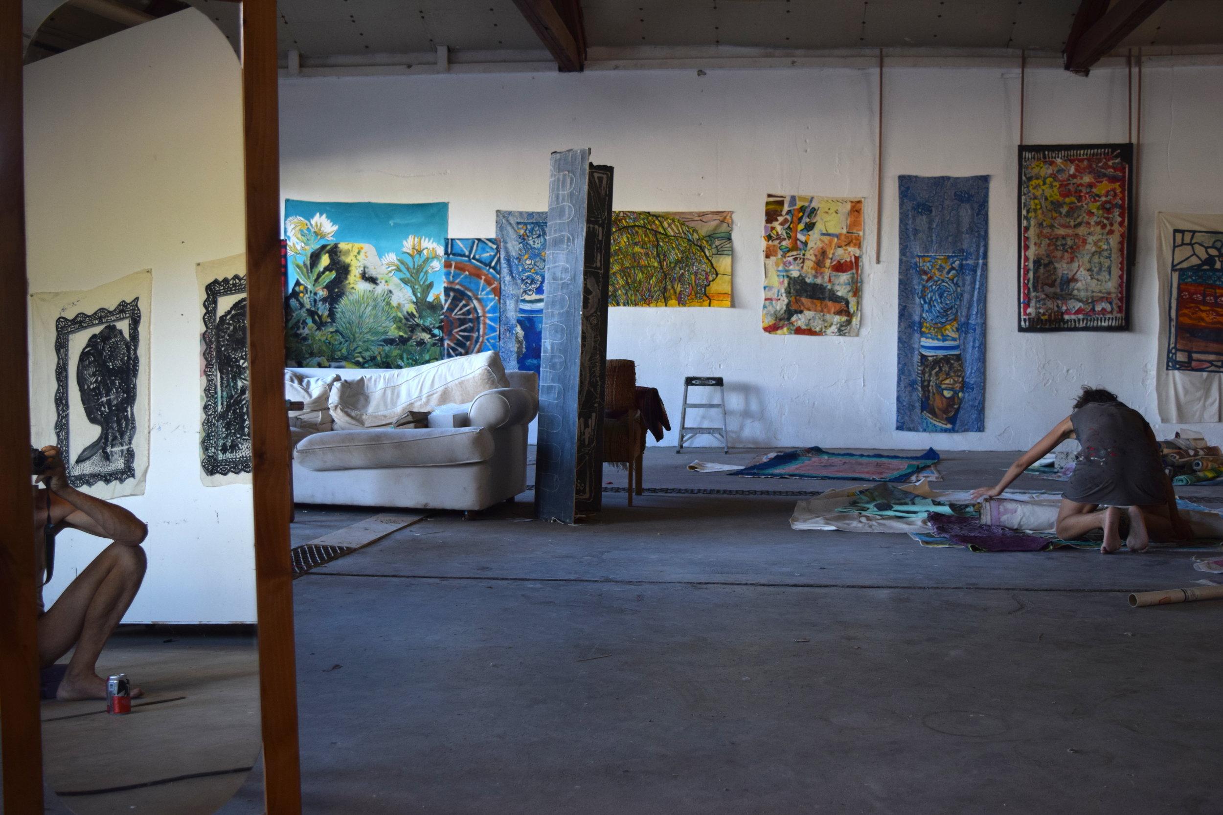 Paula Wilson studio