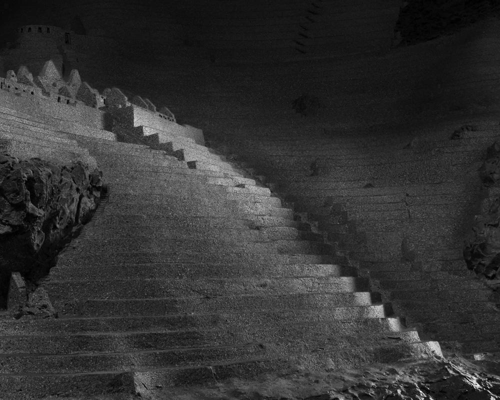 From  Mountain fields like stairways of stone