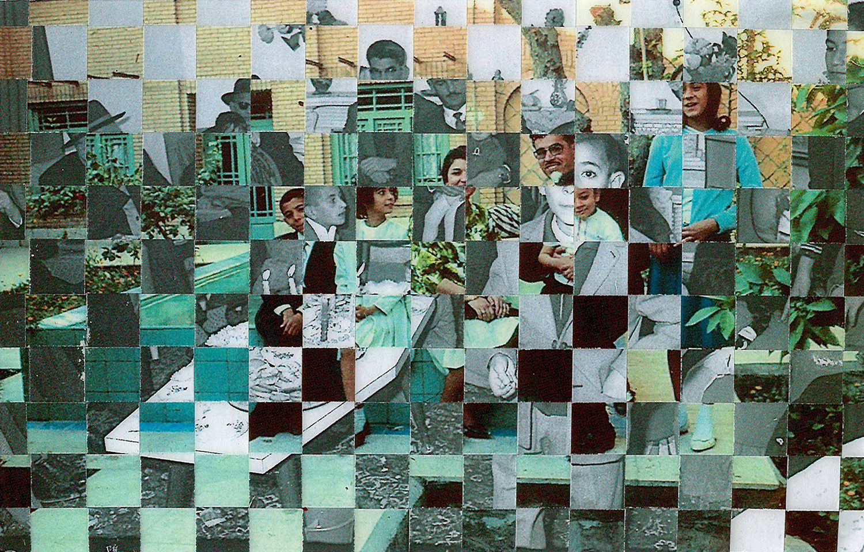 Ahvaz Garden , Handwoven Photographs on Birch Ply