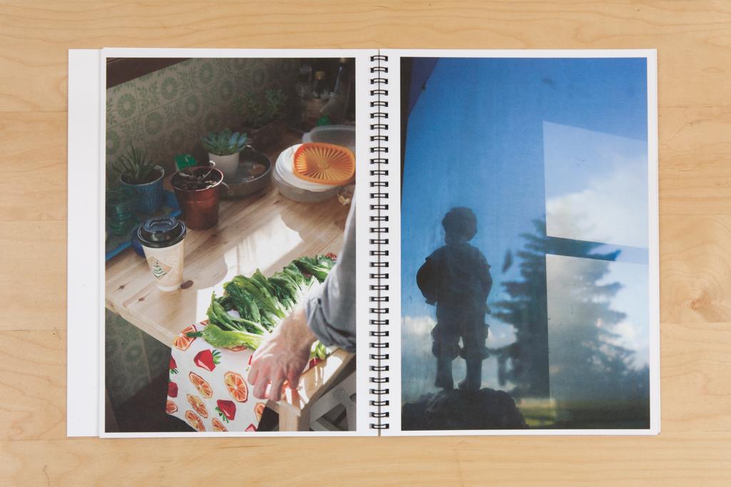 Spread from  Homesick , published with Zatara Press, Richmond, VA, 2015