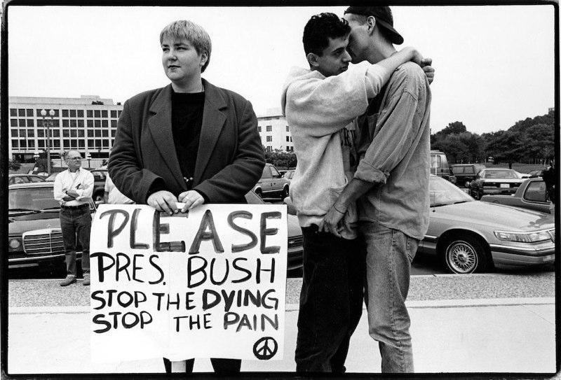 © Meg Handler, ACT UP Demonstration