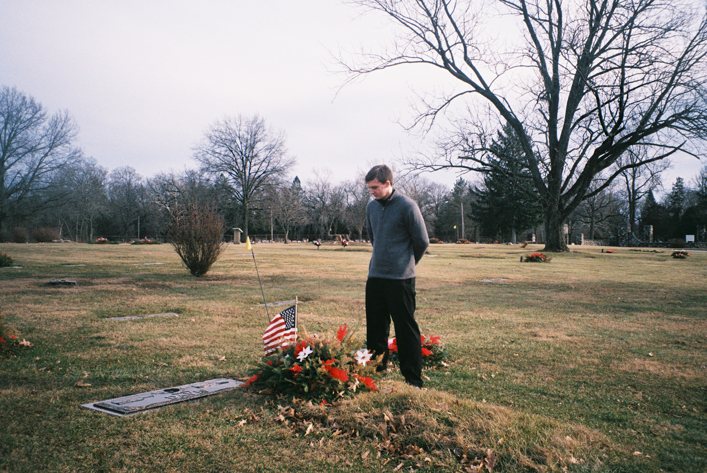 Brian mourns his late grandfather at Spring Hill cemetery in Danville. With his grandfather no longer needing assistance, Brian prepares to make his next move to Fountain, Colorado, a town that is known to be home to thousands of active and inactive military personnel. He will stay with an old Navy friend until he can get back on his feet and find a job.