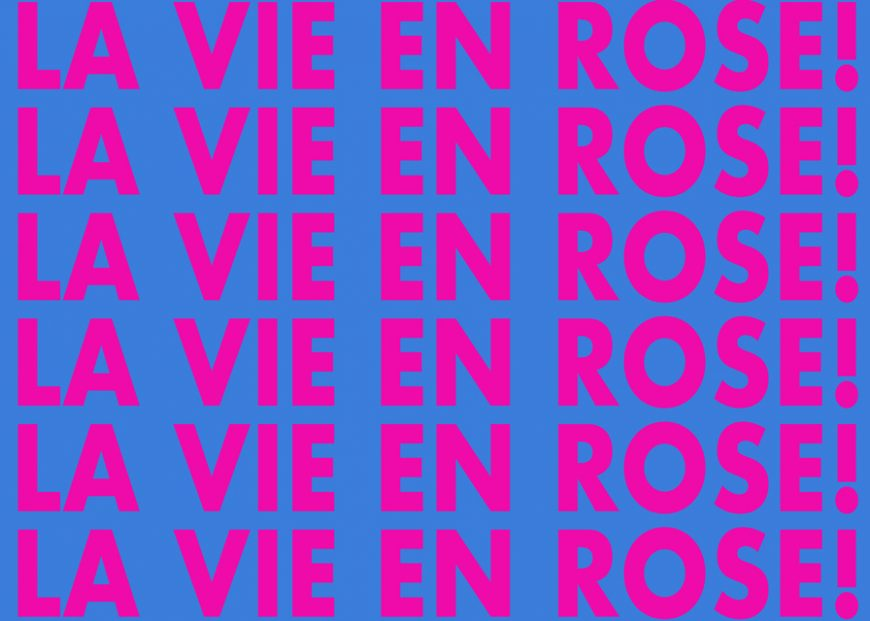 © Chad States,  La Vie En Rose (Upcoming)