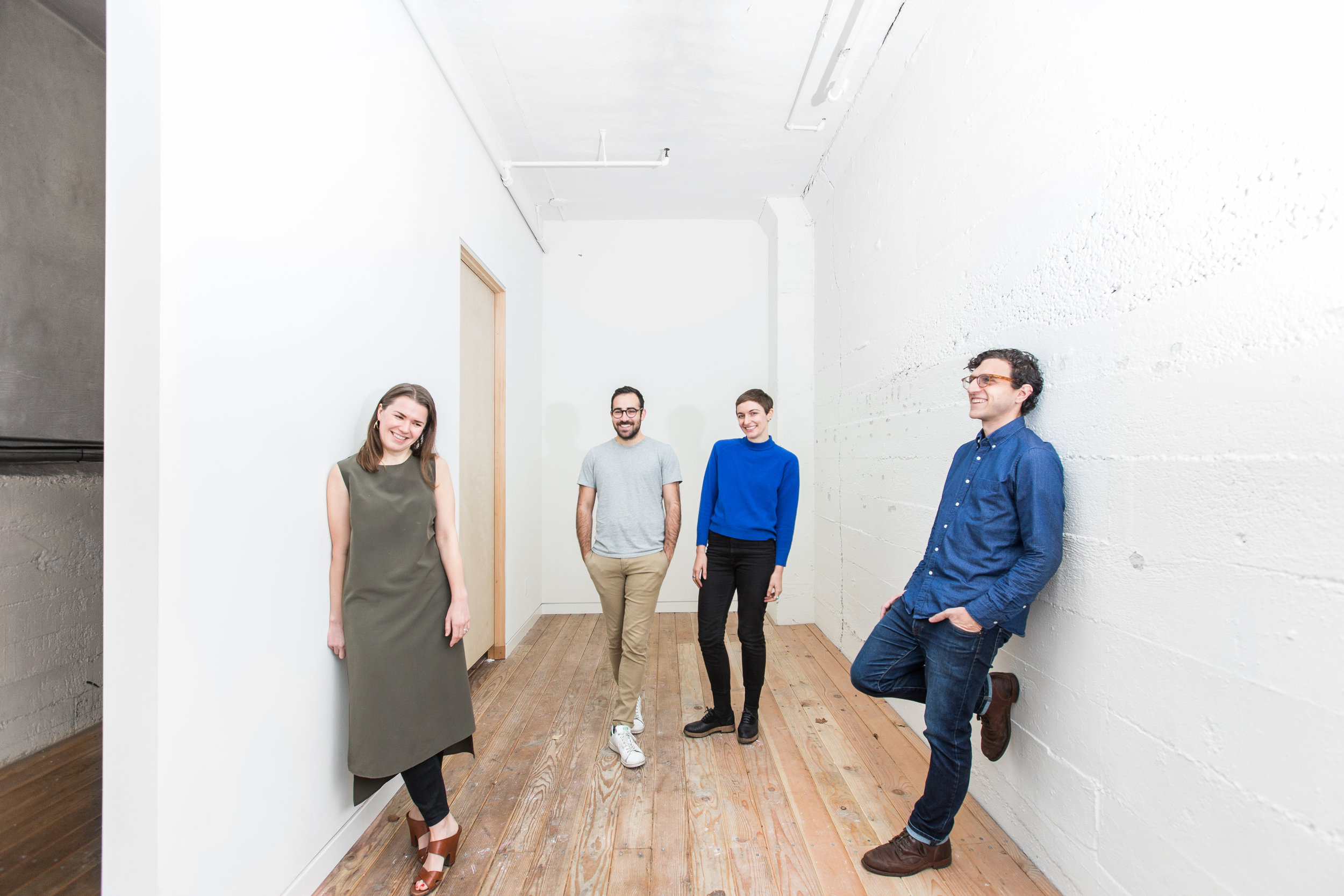 Co-founders of curatorial collective  FOUND