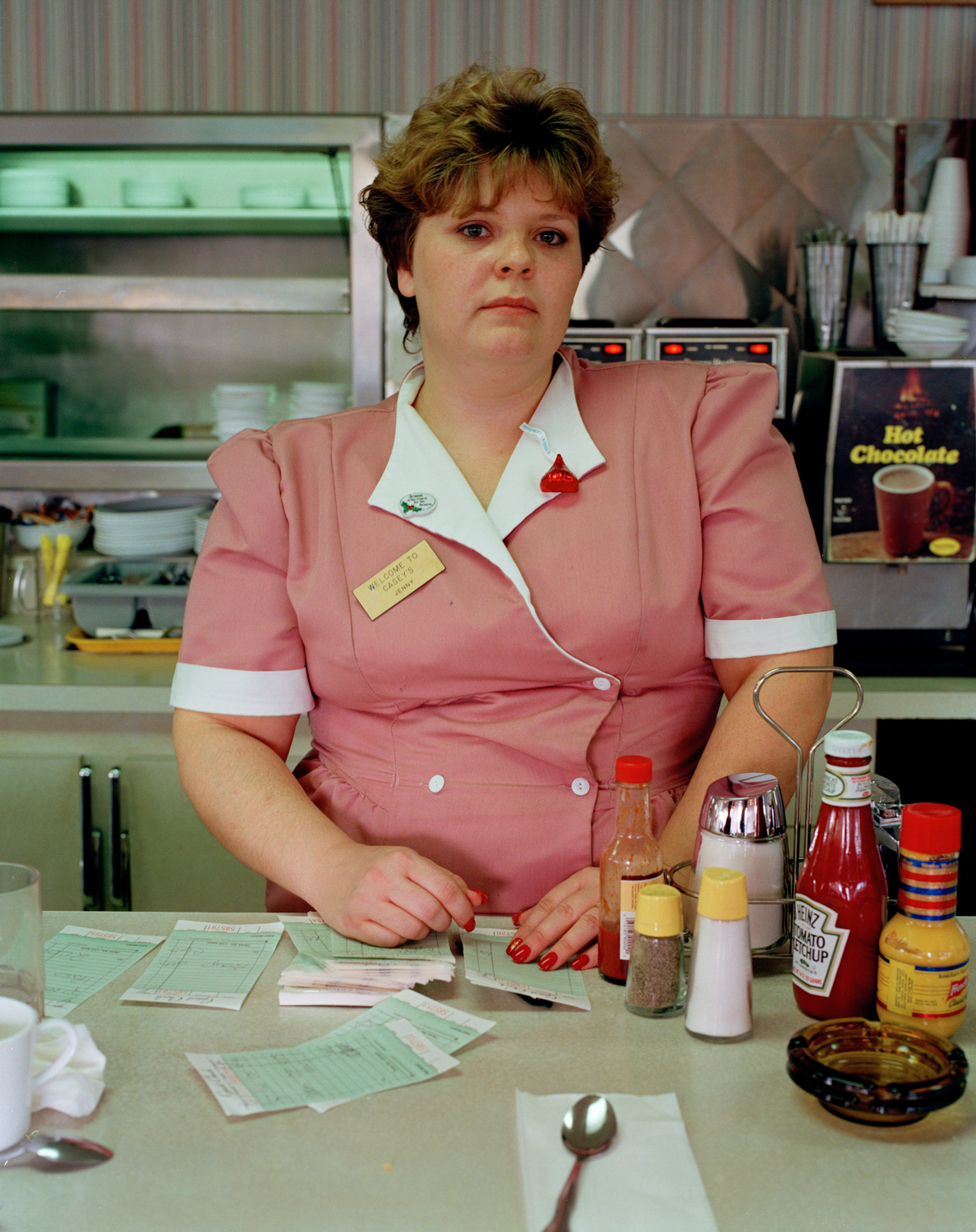 Waitress in Oregon, from Politics, 1995